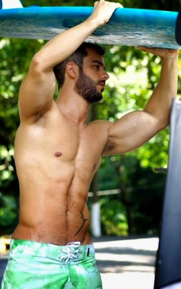 Surfer's Hairy Armpits