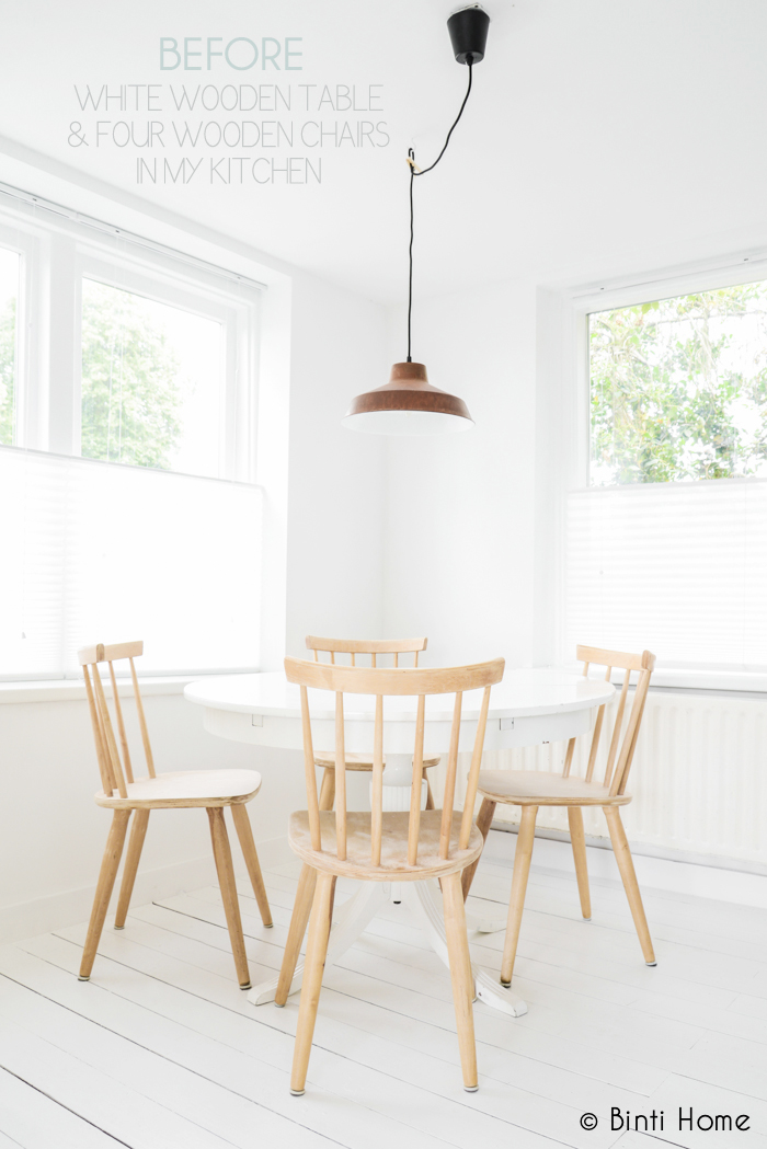 ... Home Story : Round table and chairs in my kitchen - Studio Binti Home