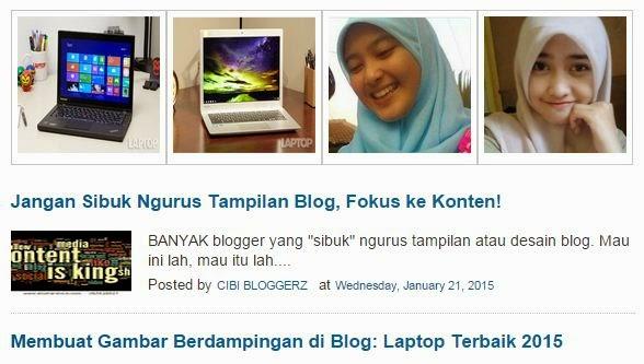 Kode Random Post di Halaman Depan & Atas Posting Blog