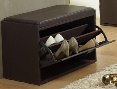 La web de la decoracion y el mueble en la red ba les de poli piel - Baul zapatero ...