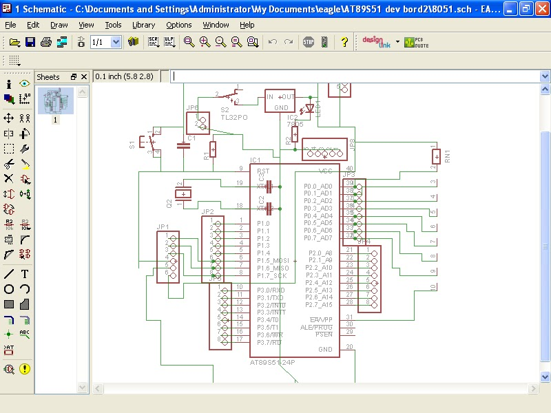 ROBO ZONE: PCB designing with EAGLE