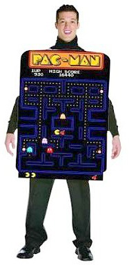 Pac-Man Game Maze Costume