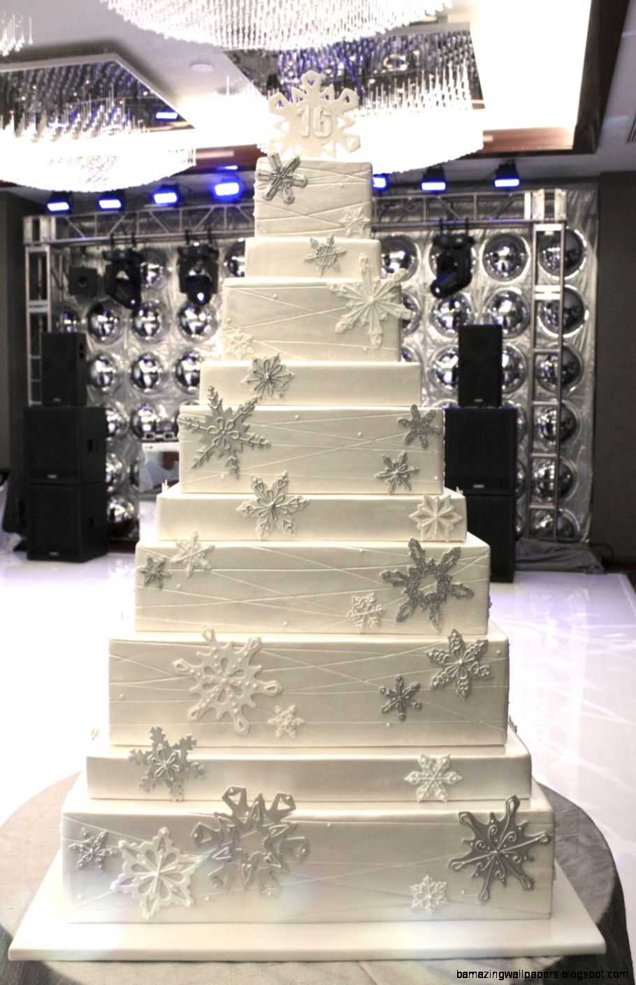Winter Wonderland Cake — Eat Cake Be Merry   Custom Cakes NYNJ