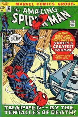 Amazing Spider-Man #107, the Spider-Slayer