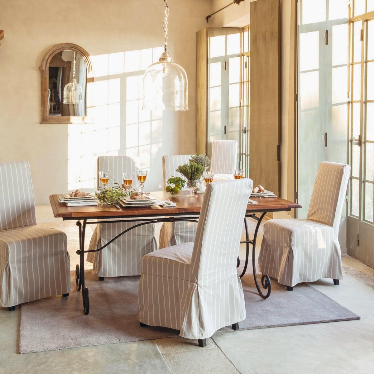Mgc dise o de interiores renovando las sillas de nuestro - Fundas de sillas ...