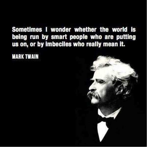 Mark Twain on NYS Government