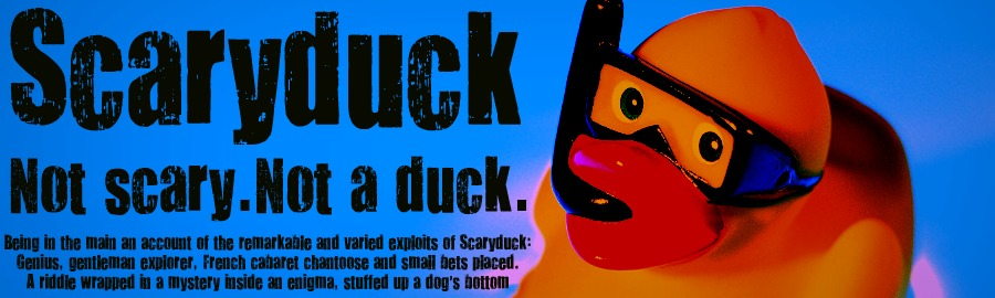 Scaryduck: Not Scary. Not a Duck