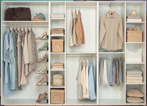 declutter wardrobe 2
