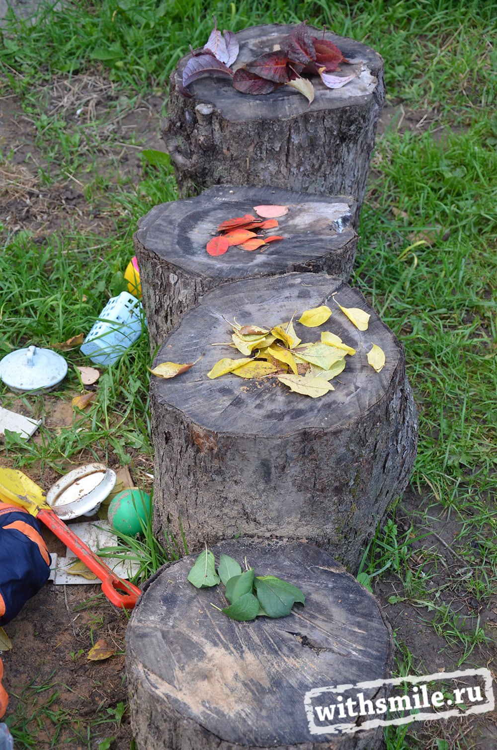 Activities for kids with leaves