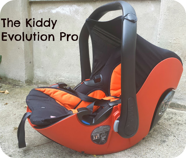 Kiddy Evolution Pro, newborn carseat review