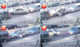 SIRI urutan gambar di New York menunjukkan seorang pemandu meletak kereta sedan di ruang yang cuma boleh memuatkan sebuah kereta kompak. - YouTube