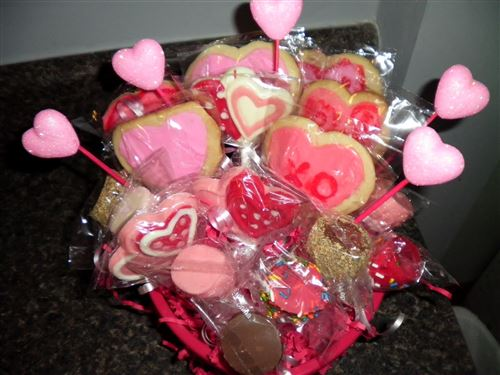 Unique Valentine's Day Cookies Gifts Baskets