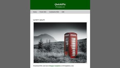 Download template Quick Pic (satu kolom)