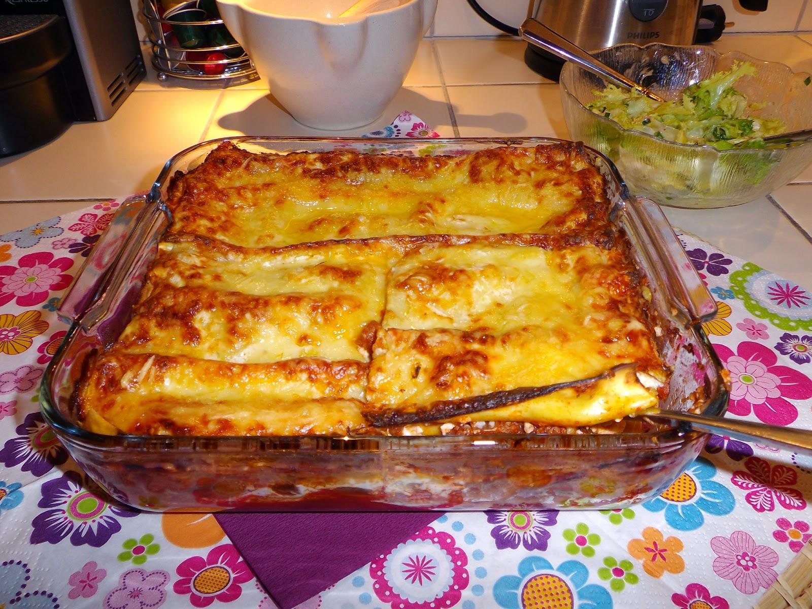 Lasagnes faciles et rapides cuisine tunisienne - Lasagne facile et rapide ...