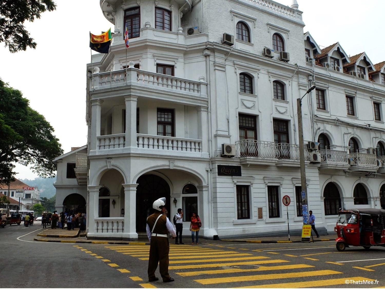 Queen Hotel Kandy Sri-Lanka hôtel de la Reine d'Angleterre Victoria