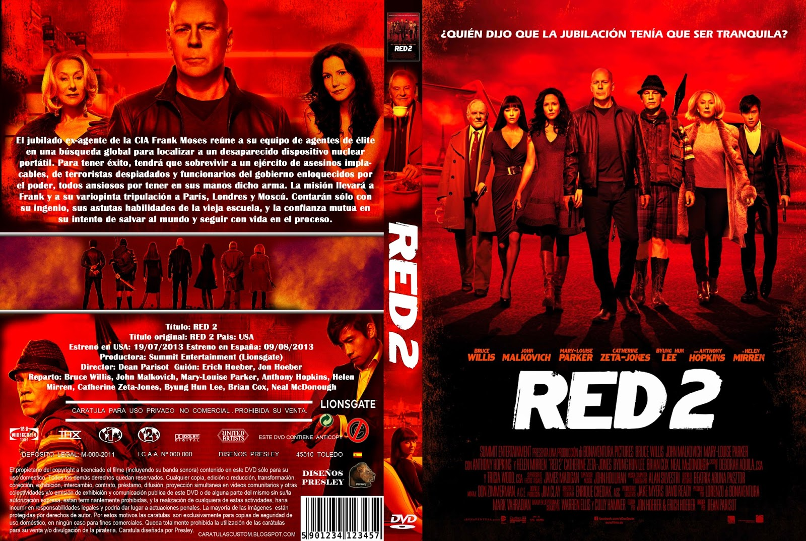 Red 2 (2013) [Dvdrip Latino] [Zippyshare]
