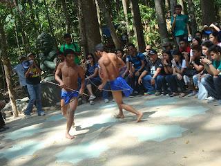 dancing aetas in zoobic safari