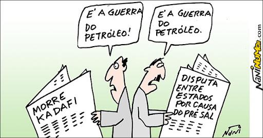 A guerra do petróleo
