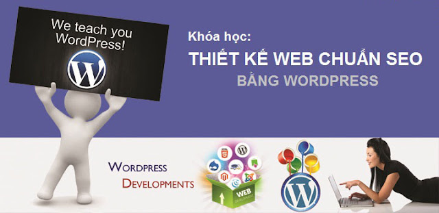 hoc thiet ke website bang wordpress