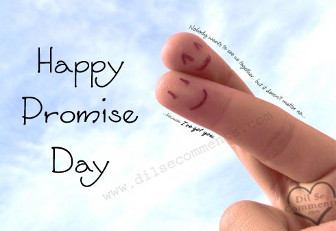 Happy Promise day quotes wallpapers
