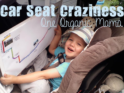 Child in Car Seat Car Seat Craziness