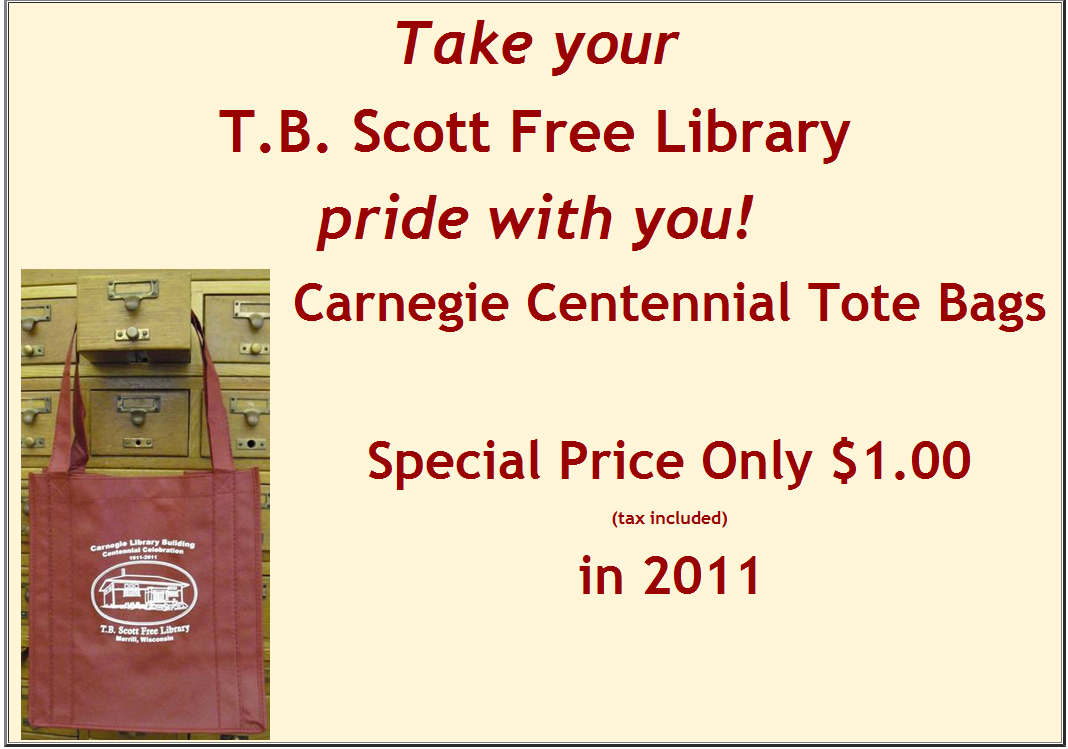 Retiring Guy's Digest: T. B. Scott Free Library in Merrill ...