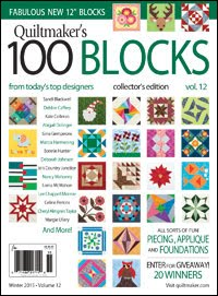 Quiltmaker 100 Blocks Volume 12