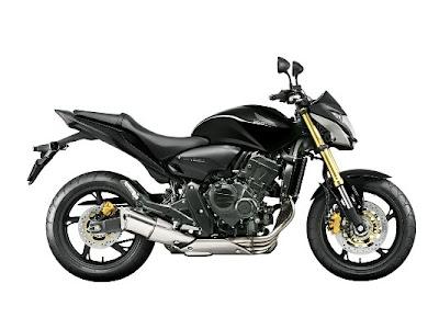 CB 600 2013 Hornet Preta