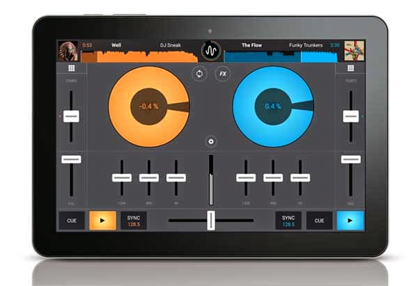 Cross DJ Free, una mesa de mezclas profesional para móviles