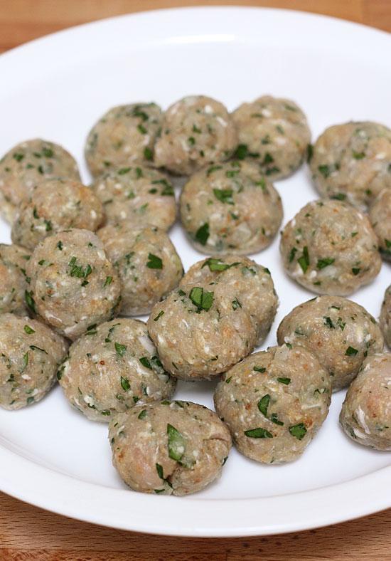 Escarole Soup With Turkey Meatballs Italian Wedding