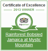 Rainforest Bobsled Jamaica at Mystic Mountain on TripAdvisor