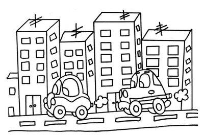 Atividade de Colorir sobre Zona Rural e Zona Urbana Só