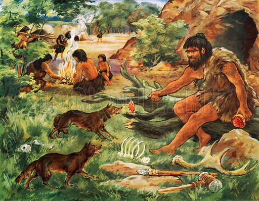 a comparison of hunting and gathering and agriculture in the early prehistoric society In the early part of the historic period, ute culture continued to be based on hunting and gathering, with a seasonal round that took them to the mountains in the.
