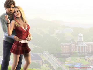 Sims 3 Game Romance Love Wallpaper