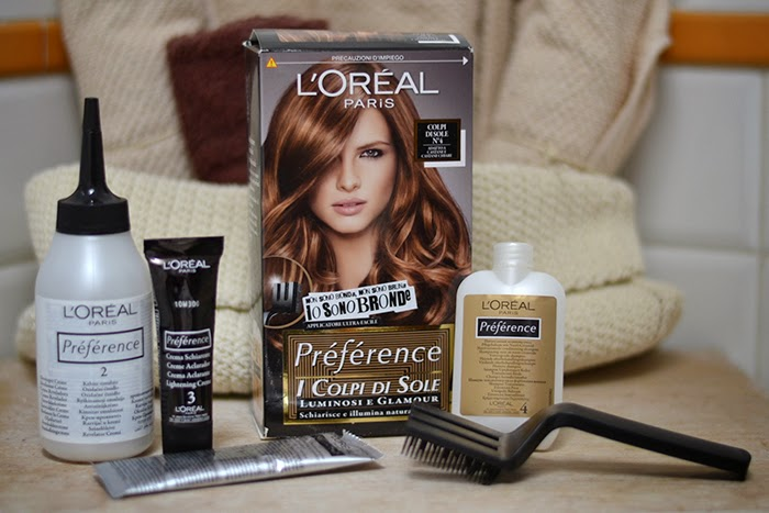loreal preference colpi di sole