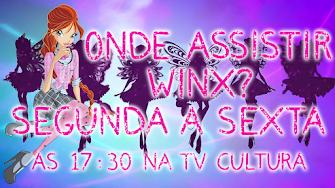 Onde eu posso assistir Winx?