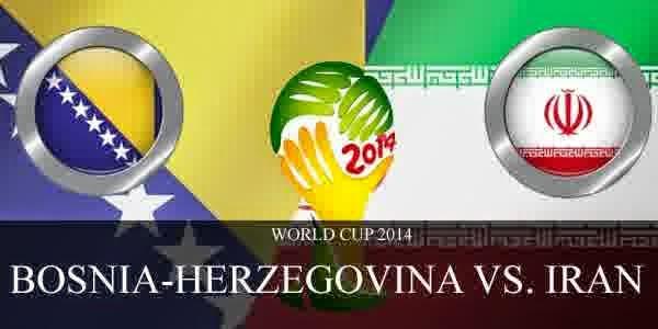 Perkiraan Skor Pertandingan Terakhir Fase Penyisihan Group F Bosnia Vs Iran