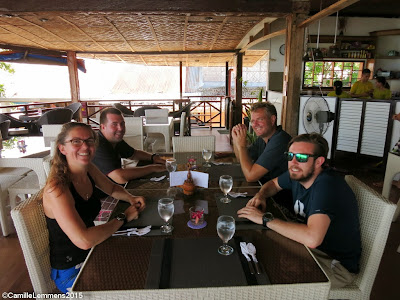 PADI IDC for May 2015 in Moalboal, Philippines has started