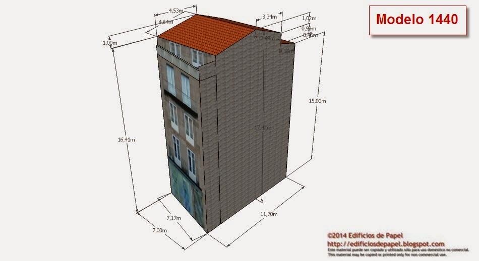 ©2014 Edificios de Papel Modelo 1440
