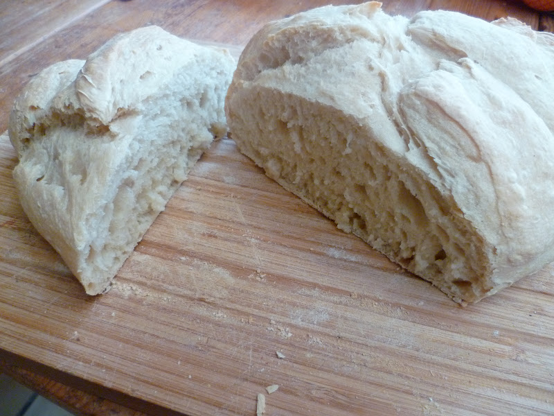 Pain Blanc Maison Au Levain Dîte Au Revoir à Votre Boulanger Les
