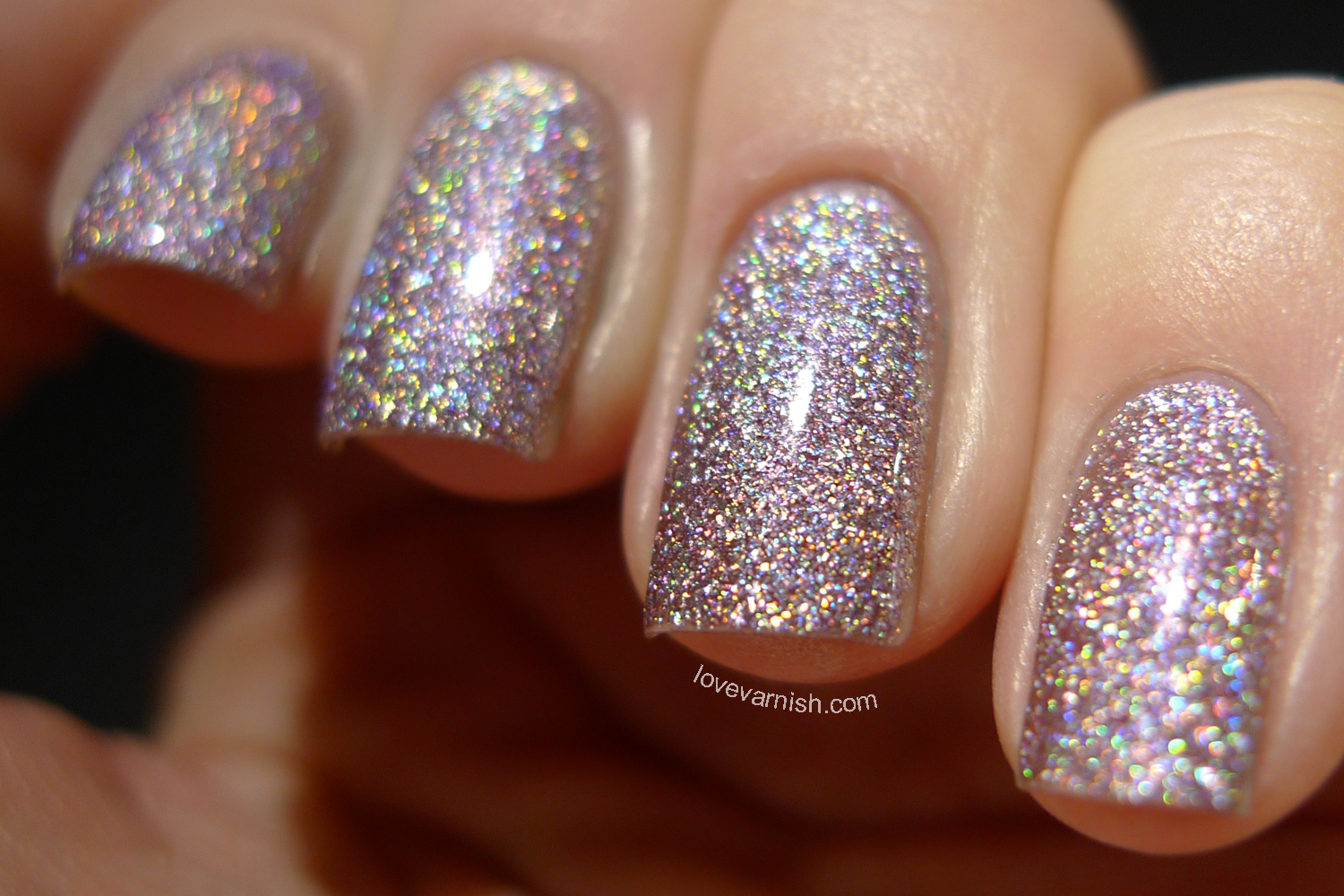 Dance Legend Wow Prism High Hopes pale lilac chunky holo