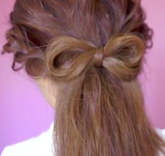 Lovely Hair Bow Tutorial