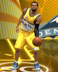 NBA 2K13 Denver Nuggets Alternate Jersey