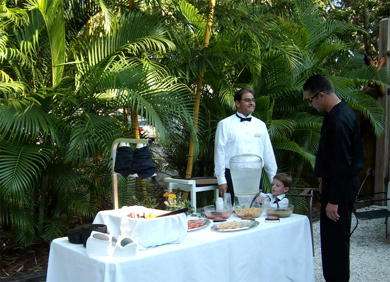 Celebrations outdoors welcomes in the best atmospheres for guests to take