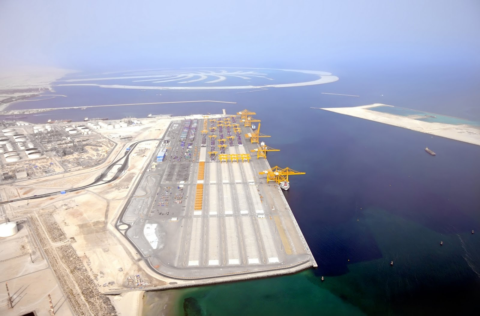 Jebel Ali new container terminal