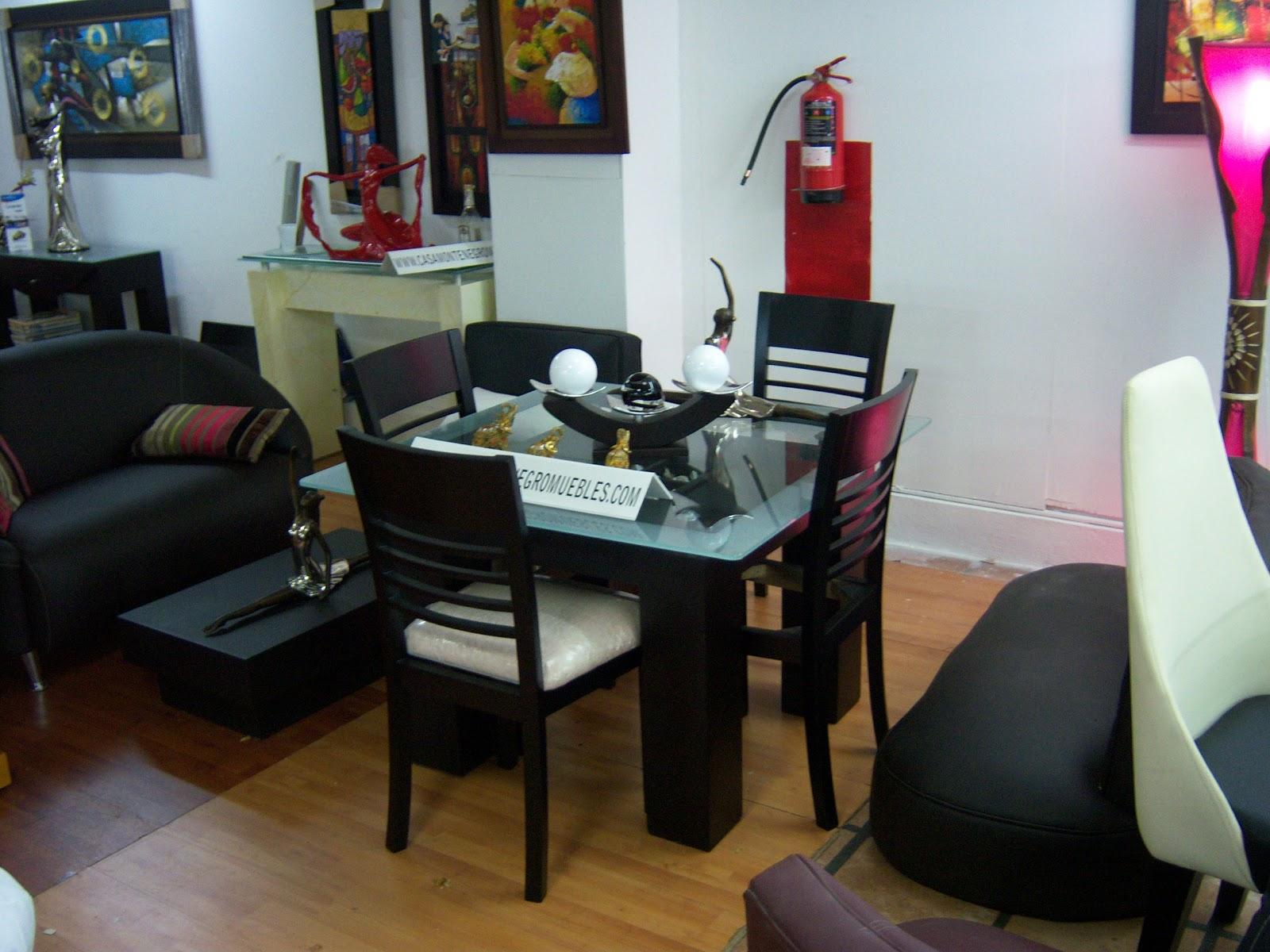Casa montenegro muebles 0424 2427129 0412 3244398 for Comedores de madera y vidrio