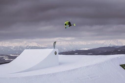 Slopestyle Seiser Alm Snowpark