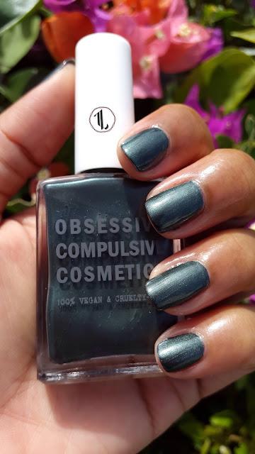 Obsessive Compulsive Cosmetics 'Poison' www.modenmakeup.com
