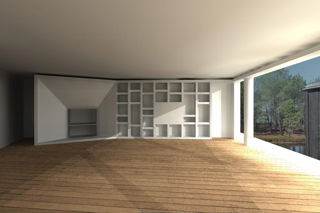 39 r habilitation maison bioclimatique tresses - Habillage de cheminee exterieur ...