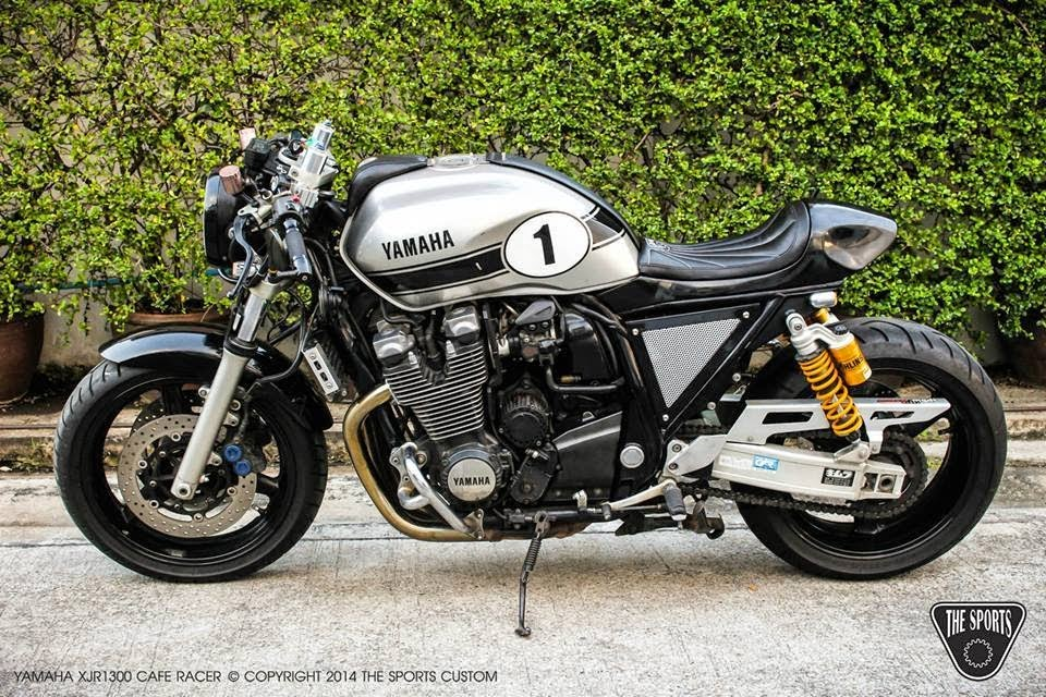 Yamaha XJR1300 Cafe Racer By The Sports Custom Based On A